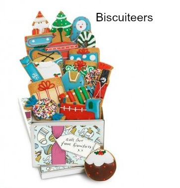 Biscuiteers advent tin