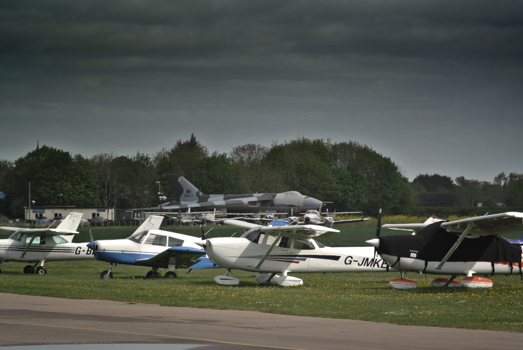 Vulcan Wellesbourne Airfield