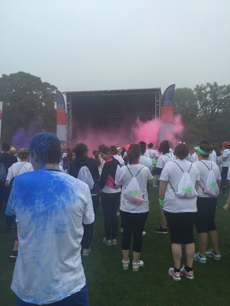 run or dye colour