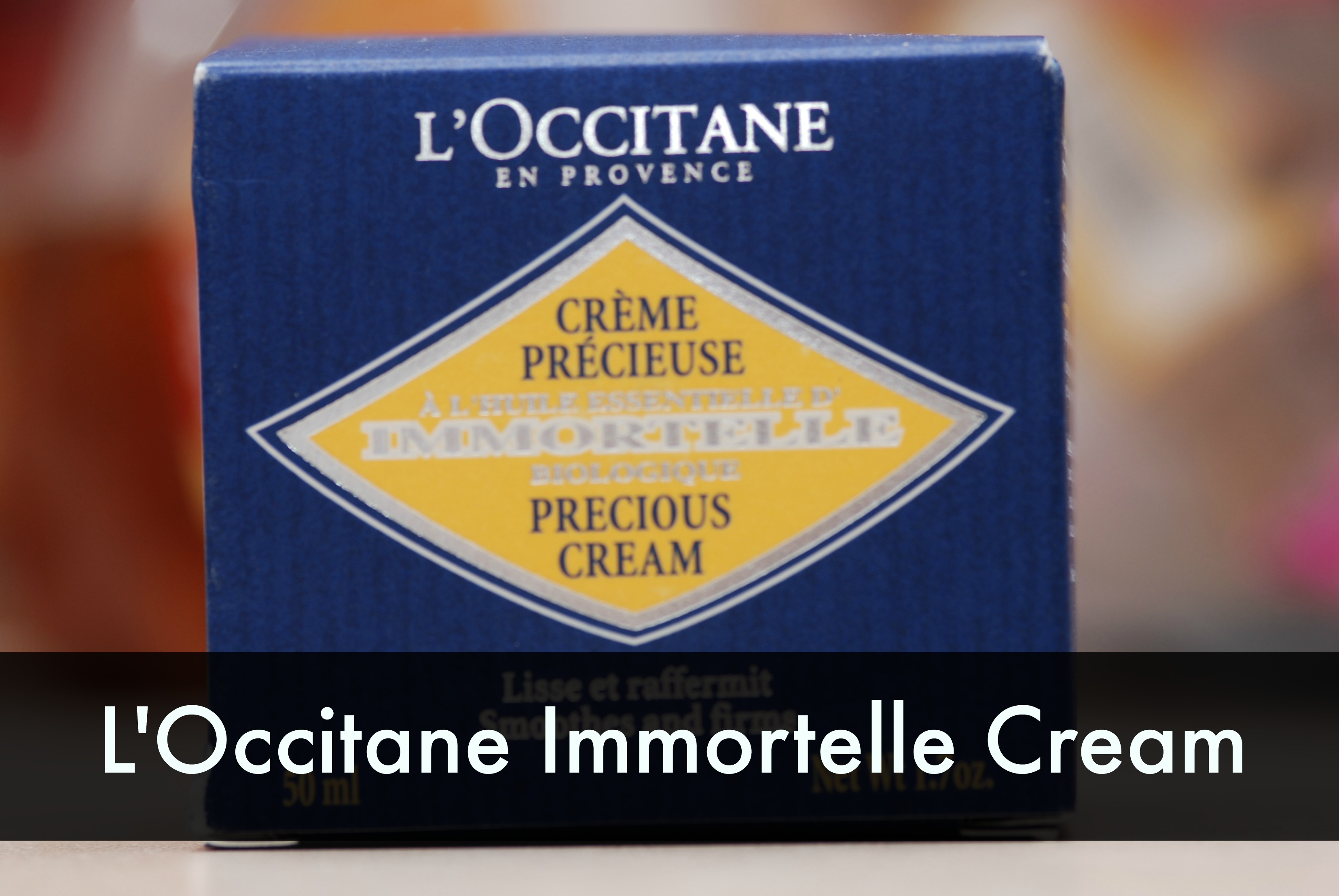 L'occitane immortelle cream