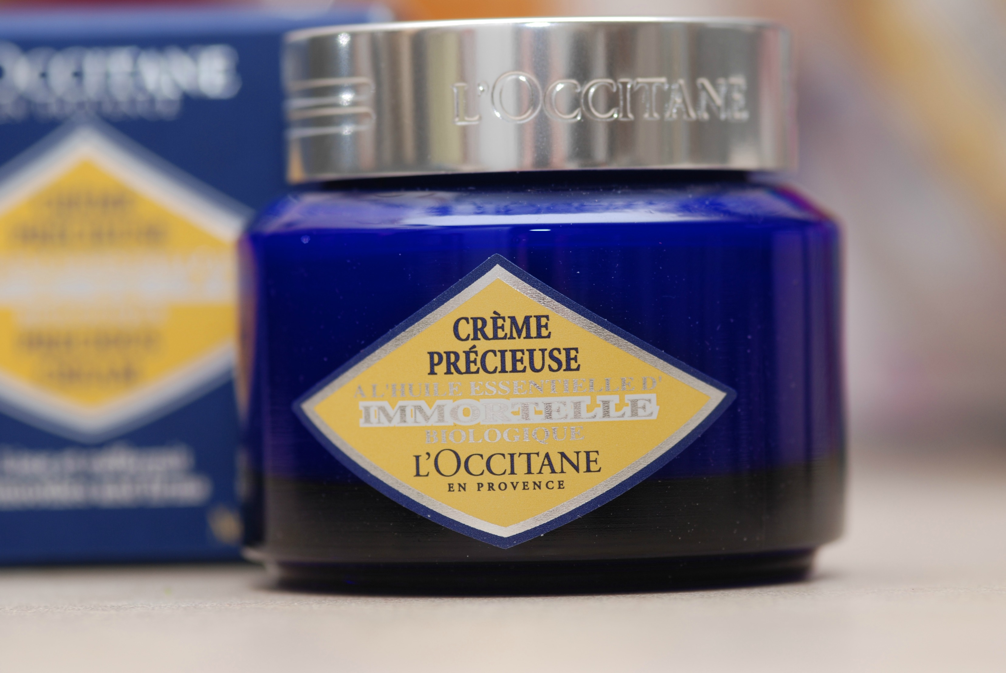 l'occtaine immortelle cream