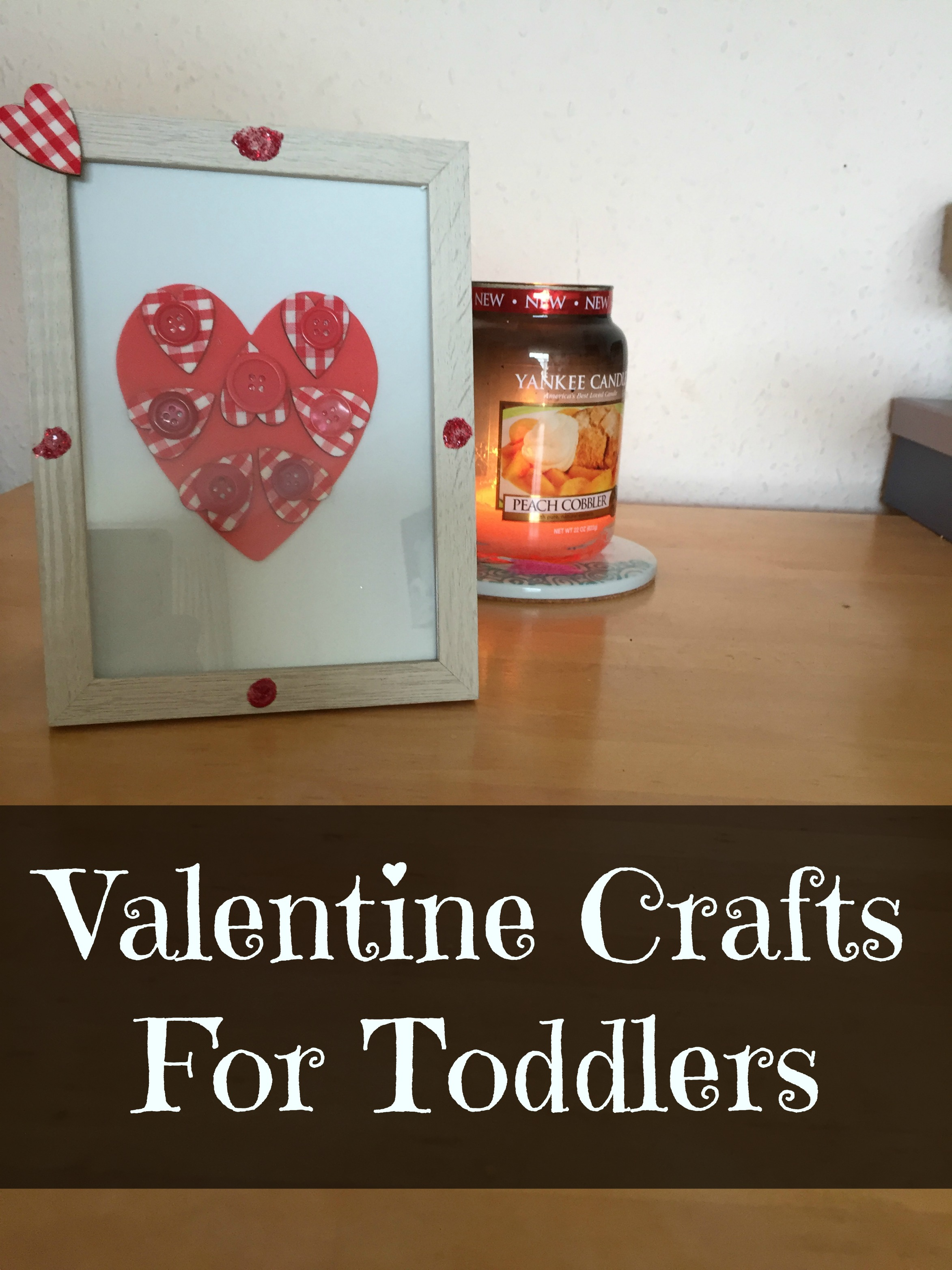 Toddlers crafts valentines