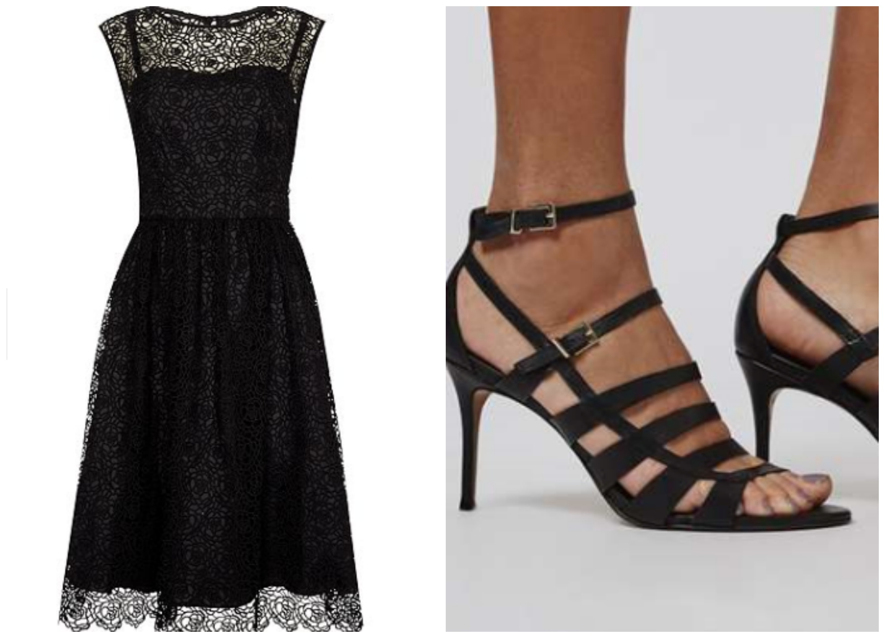 House of fraser cocktail dress with topshop heels suitable for a charity ball
