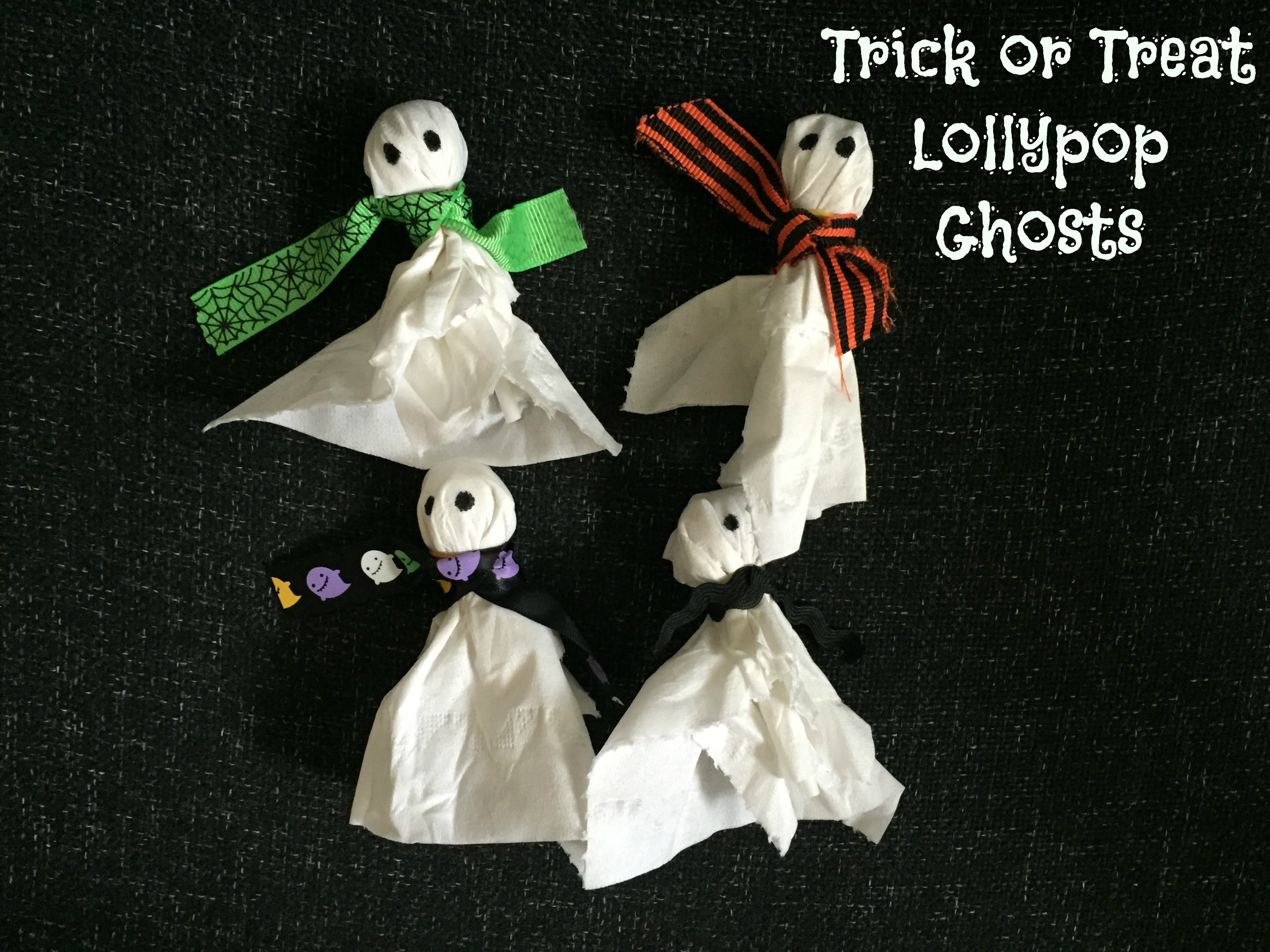 Trick or treat ghosts