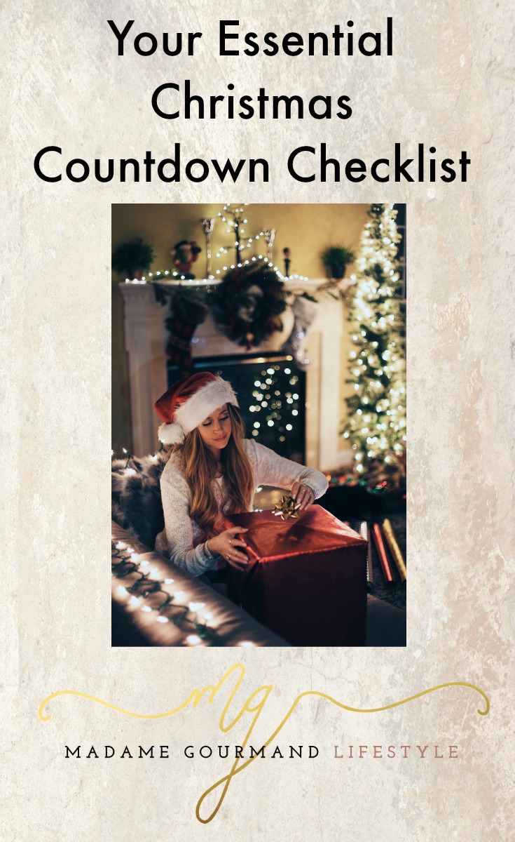 christmas countdown Checklist
