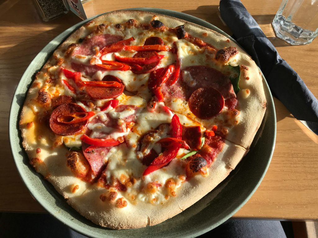 Adult pizza Twycross zoo