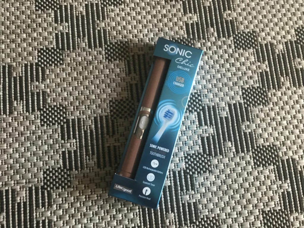 Sonic powered toothbrush
